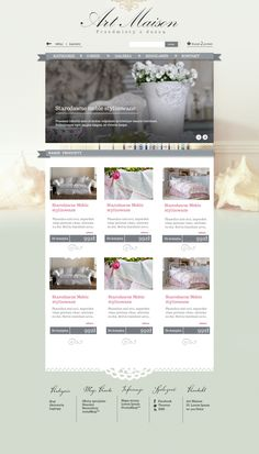 Layout designed by PHU Hartwig for e-shop artmaison.pl