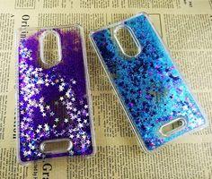 New Glitter Stars Dynamic Liquid Quicksand Hard Case Clear Cover For Xiao Mi Redmi Note 3 Redmi Note 3 Pro Protective Shell