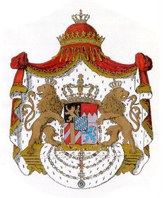 Coat of arms of Kingdom of Bavaria (1835–1918)