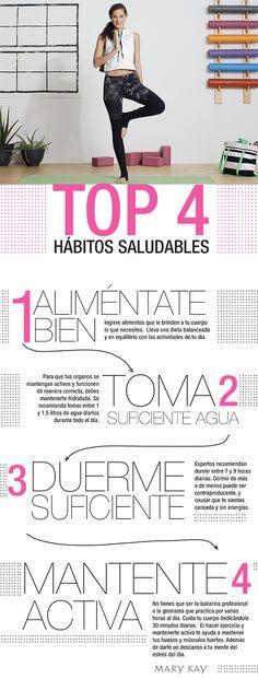 Top 4: Hábitos Saludables