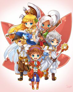 MapleStory: Maple Heroes by SeaStaar All Video Games, Video Game Art, Story Characters, Fictional Characters, Mega Man, Long Live, Best Games, Maplestory 2, Chibi