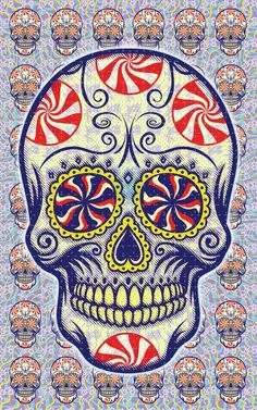 Skull Candy Buvard Art
