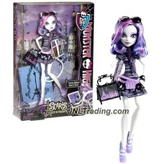 "Mattel Year 2012 Monster High Scaris City of Frights Series 12 Inch Doll - Catrine DeMew ""Daughter of Werecat"" with Purse and Doll Stand"