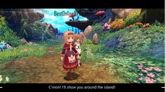 The visual style is further emphasized with the game's environments. The 3D graphics are impressive to look at as each location is bright and colourful and filled with a lot of vegetation. You truly feel immersed inside of this faraway fantasy world. The 3D world is also fully explorable and you aren't restricted in any way in terms of how far you can go. To further immerse you into the game, Twin Saga has actual cinematic style cutscenes for you to watch. #twinsaga, #animemmorpg, #3dmmorpg