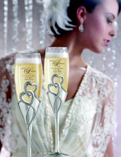 Intertwined Hearts Flutes (Exclusively at Things Remembered)