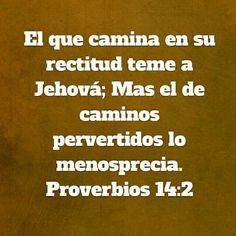 Proverbios 14:2