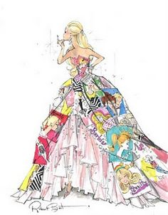 OMGOSH I designed a dress so similar to this!