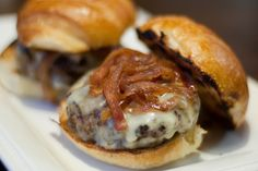 Fig-Glazed Burgers with Red Onion Jam adapted from Southern Living, July 2010