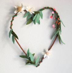 Heart Wreath by sian keegan