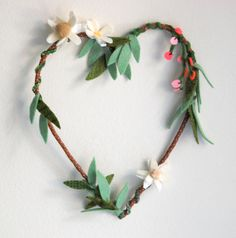 Heart Wreath by sian keegan