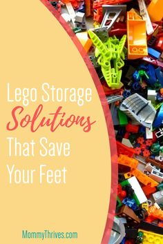 Ideas and Organization Hacks For Legos - How To Store Legos - Ideas For Lego Storage and Organization Best Toddler Toys, Best Kids Toys, Building Toys For Kids, Step On A Lego, Educational Toys For Toddlers, Science Toys, Awesome Toys, Lego Storage, Popular Toys