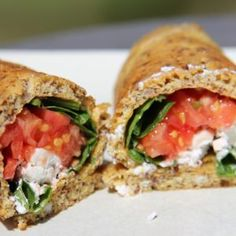Sandwich Wrap (Low Carb and Gluten Free) - Divalicious Recipes