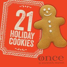 Here are some great cookies for you to consider this holiday season. Most are freezer friendly, either after making the dough or after baking.