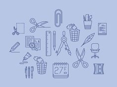 Office/Stationery icons