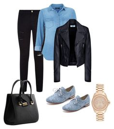 """""""Unbenannt #47"""" by ermina000 ❤ liked on Polyvore featuring Frame Denim, Balenciaga, Anniel, Dolce&Gabbana and Michael Kors"""