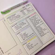 Diät-Plan in meinem Bullet Journal II Diet plan in my Bullet Journal II I have to make a confession: I haven't exercised for over a month and have had binge eating for two months. Ic # Diät-Plan in meinem Bullet Journal II