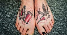 7 Sew Lovely Needle & Thread Tattoos