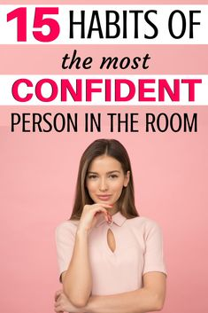 Learning how to be confident takes time. It's often made through self-improvement and self-development. You can become more confident, you just have to learn what to do! Here are 15 self-development habits you should have! Self Confidence Tips, Confidence Quotes, Confidence Building, Confidence Boosters, Self Development, Personal Development, Positive People, Confident Woman, Successful People