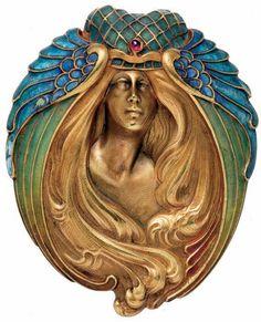 Marcel Bing ~ Art Nouveau brooch