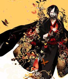 Tags: Fanart, Pixiv, STAR Shadow Magician, Fanart From Pixiv, Hoozuki no Reitetsu, Hoozuki (Hoozuki no Reitetsu)