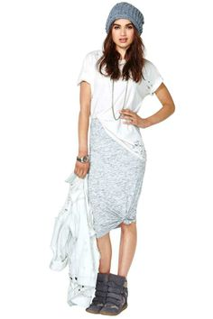 Ashes To Ashes Skirt