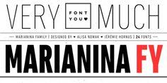 Marianina FY font download