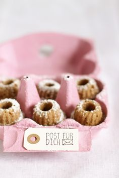 mini chestnut bundt cakes