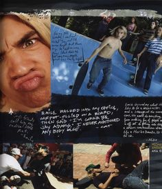 Emile Hirsch playing Jay Adams in Lords of Dogtown.