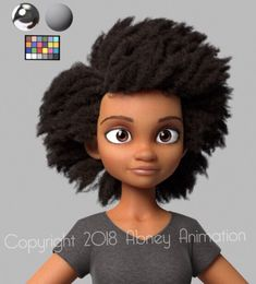 """I want to introduce you all to the character I teased recently from my shortfilm. Again, I couldn't do this w/o my talented team of artists! Huge S/O to (design), (modeling), & on the Hair work. Pixar Character Design, 3d Character Animation, 3d Model Character, Character Modeling, Character Concept, Character Art, Pixar Characters, Black Characters, Cartoon Disney"