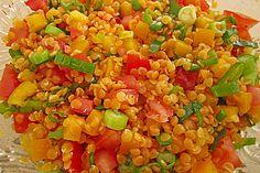 Roter Linsen - Salat 3