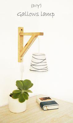 Nur noch...: Galgenlampe - Gallows lamp