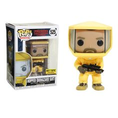 Hopper, from Stranger Things, is prepared to journey into the Upside Down - in his biohazard suit - as a fun, and funky, stylized collectible Pop! vinyl figure from Funko! Television 525 3 tall Vinyl Imported By Funko Pop Figurine, Figurines Funko Pop, Funko Pop Figures, Pop Vinyl Figures, Stranger Things Gifts, Stranger Things Funko Pop, Stranger Things Aesthetic, Hot Topic Stranger Things, Hopper Stranger Things