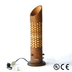 Bamboo Table Lamp Handmade Bamboo Lampshade Asian by CreateitUp Bamboo Crafts, Wood Crafts, Bamboo Light, Bamboo Lamps, Bamboo Table, Bamboo Architecture, Bamboo Design, Bamboo Furniture, Wooden Lamp