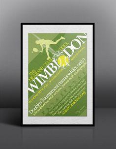Wimbledon Tennis Event Flyer Design