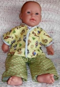 To Fit Bitty Baby - Free Clothes Patterns