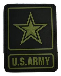 SUBDUED US ARMY LOGO PVC PATCH ccf2fa13a34