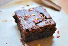 Brownie Piment & cannelle