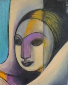 "Saatchi Art Artist Rosaria Onotri; Painting, ""Head"" #art"