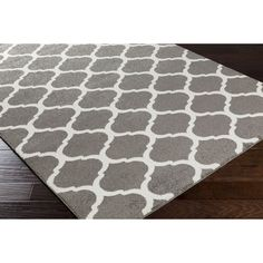 "Meticulously Woven Killeen Modern Geometric Area Rug (6'7"" x 9'6"") - Overstock™ Shopping - Great Deals on 5x8 - 6x9 Rugs - Grey"
