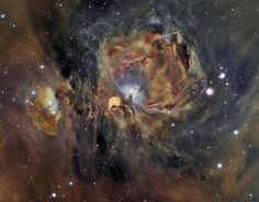 Orion Nebula in Oxygen, Hydrogen, and Sulfur' Image