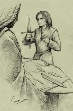 Young Aragorn by ilxwing.deviantart.com on @deviantART - First in a series showing younger versions of Lord of the Rings characters: Aragorn - or Estel, as he would have been called at the time.