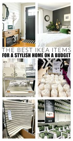 YOU WON'T WANT TO MISS THIS LIST!!! How to use everyday IKEA items to update and decorate your home! #IKEA #IKEAhack