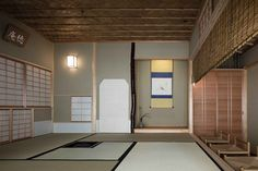 Image 7 of 27 from gallery of A House with a Ryūrei Style Tea Room / Takashi Okuno & Associates. Photograph by Shigeo Ogawa Japanese Architecture, Architecture Design, Japanese Tea House, Wabi Sabi, Traditional, Gallery, Outdoor Decor, Room, Furniture