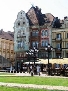 Unirii Square, Timisoara, Romania