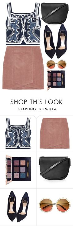 """""""That Style!"""" by gabygirafe ❤ liked on Polyvore featuring Peter Pilotto, Tory Burch, Topshop and Christian Dior"""