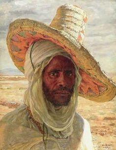 Arab with hat by Etienne Dinet, 1901 Figure Painting, Painting & Drawing, L'art Du Portrait, Beaux Arts Paris, Art Occidental, Art Database, Western Art, Art Plastique, Islamic Art