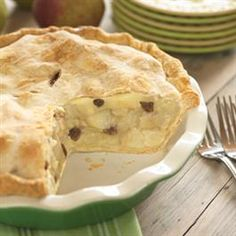 Honeyed Cream Cheese Pear Pie
