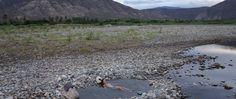 Hot springs Almendral Peru