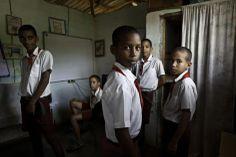 Cristina Garcia Rodero. CUBA. Baracoa. Primary school of Manglito
