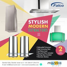 MOST STYLISH EXTRACTORS @Manrico Select www.manriconamibia.com
